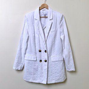 Amisu Cotton Linen Blend Blazer